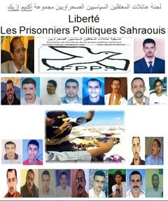 Les détenus politique sahraouis (Photo DR)