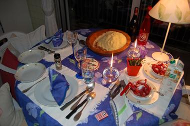 Issu d'une tradition culinaire de 7000 ans, le couscous se conjugue parfaitement avec l'art de la table (photo Dahmane Soudani).