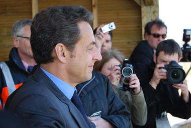 Un nouvel handicap pour le président de l'UMP (Photo Dahmane Soudani)