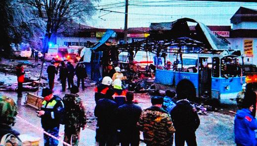 Deuxième acte criminel contre la population de Volgograd (photo d'écran VR)