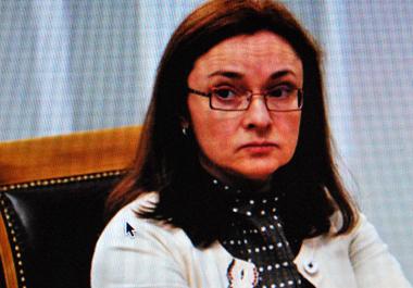 Elvira Nabioullina « Il s'agit de créer un système national qui garantira les paiement dans le pays » (photo d'écran-DS)