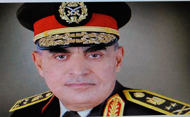 Sedki Sobhi , le nouveau visage de l'armée Égyptienne (photo d'écran site al-Ahram)
