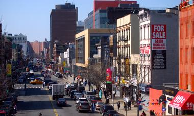 Harlem secoué par une explosion (photo Dahmane Soudani)
