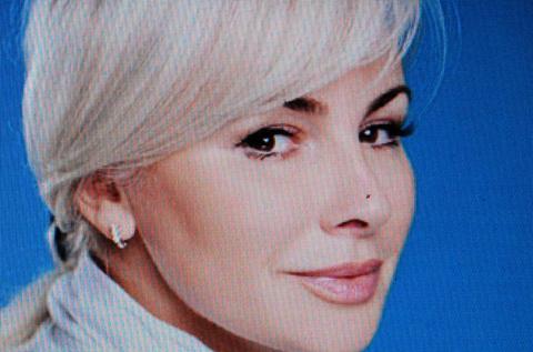 Olga Kovitidi  appelle l'Union européenne à soutenir le référendum en Crimée (photo d'écran DS)
