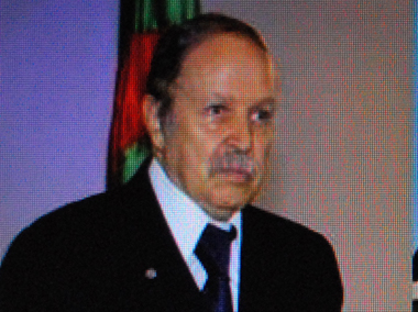 Abdelaziz Bouteflika inaugure son quatrième mandat (photo DR)