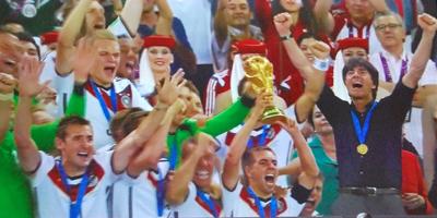 Pour la quatrième fois, l'Allemagne tient le sacre (photo d'écran)