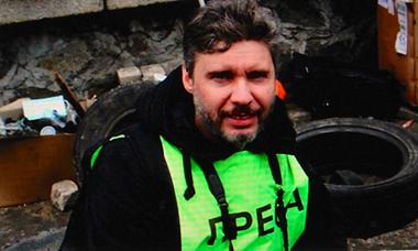 Andréï Stenine, mort sur champ de liberté d'expression (photo d'écran DR)