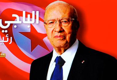 Béji Caïd Essebsi, le visage de la stabilité de la Tunisie (photo d'écran NT-DR)