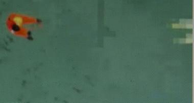 Un gilet de sauvetage (photo écran Berita Satu)