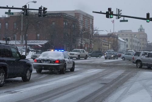 Les chutes de neige ont commencé dans le Connecticut (photo Dahmane Soudani)