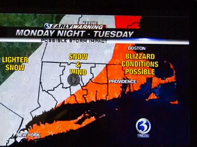 Alerte météo sur la Nouvelle-Angleterre (Ph. écran-DR)