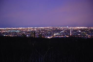 Vue nocturne de Montréal  (photo Dahmane Soudani)