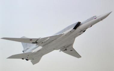 Le bombardier porte-missiles stratégique supersonique TU-22M3