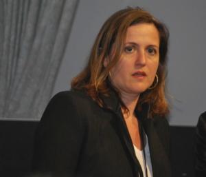 Bénédicte de Montlaur, nouvelle conseillère culturelle à l'ambassade de France (photo Dahmane Soudani)