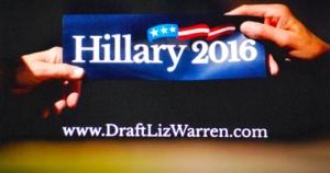 Hillary Clinton soupçonnée de défendre les intérêts du 1% de nantis (photo d'écran-DR)