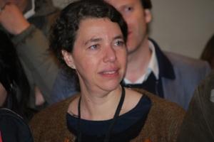 Mériam Korichi, l'auteur de la Nuit de la philosophie (photo Dahmane Soudani)
