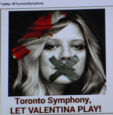 Valentina Lisitsa, victime de délit d'opinion (photo d'écran DR)