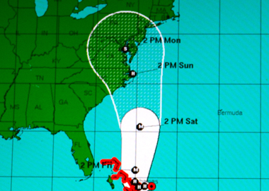 Joaquim, un ouragan majeur (photo d'écran DR)