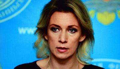 Maria Zakharova  appelle les média occidentaux à ne pas bafouer le principe du droit de réponse (Photo ecr.-DR)
