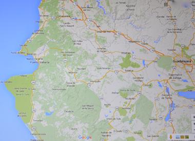 Toute la zone côtière autour de Puerto Vallarta a été évacuée (ph. Écran-DR)