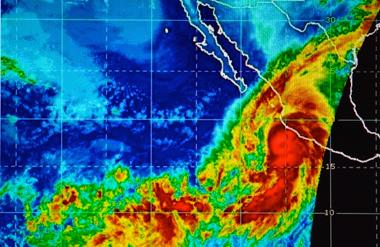 Patricia va frapper le centre -ouest du Mexique ce vendredi (ph. écran-NPR)